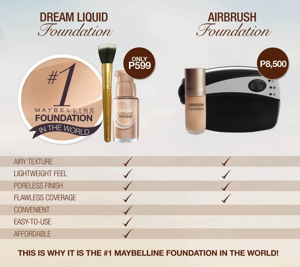 liquid foundation for airbrush machine